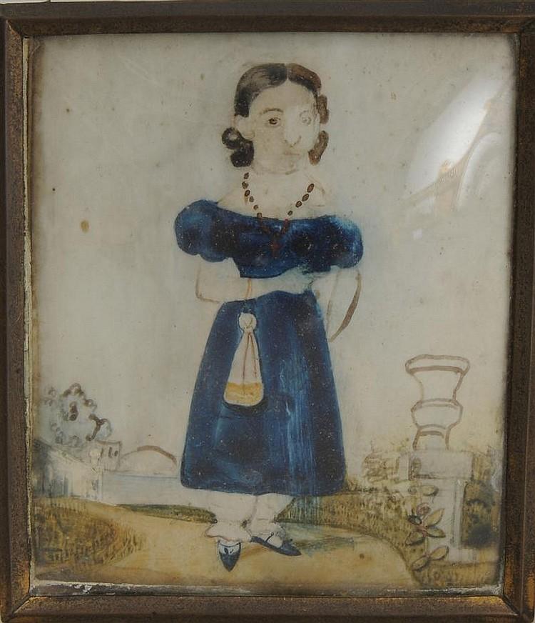 Group of Four Portrait Miniatures
