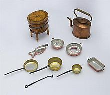 Group of Miniature Articles