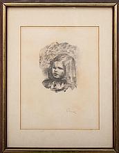 After Pierre-Auguste Renoir (1841-1919): Claude Renoir Tourné à Gauche