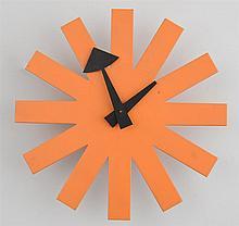 HOWARD MILLER CLOCK COMPANY: ELECTRIC SUN-BURST WALL CLOCK