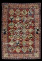PERSIAN TABRIZ ANIMAL CARPET