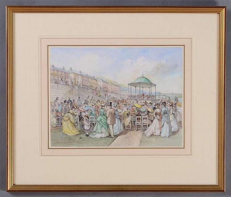 JOHN S. GOODALL (1908-1996): THE BANDSTAND