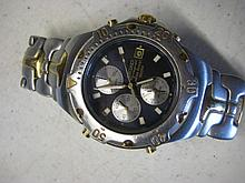 Mens Seiko Chronograph Watch