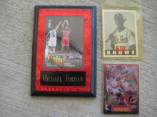 Michael Jordan Collector Card Lot