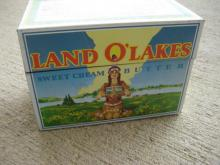 Land of Lakes Index Card File Box