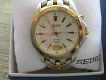 Seiko Perpetual Calendar Watch, Needs Repair