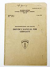 USA ARMY/Europe Drivers Manual for Germany