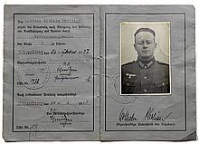 Nazi German Military drivers license