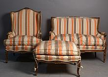 Set of Louis XV & XVI Style Furniture