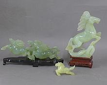 Carved Jade Horses