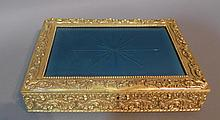 Dore over Bronze and Mirrored Glass Box