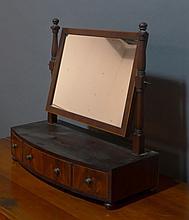 Antique Dressing Mirror, American 18/19th C