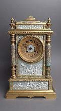Antique Wedgewood and Enamel Clock