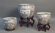 Chinese Famille Rose Porcelain Planters