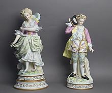 Porcelain Figural Statues