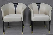 Pair of Modern Tub Chairs