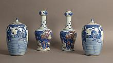 Collection of Four Chinese Porcelain Vases