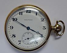 14 kt Gold Waltham Pocket Watch