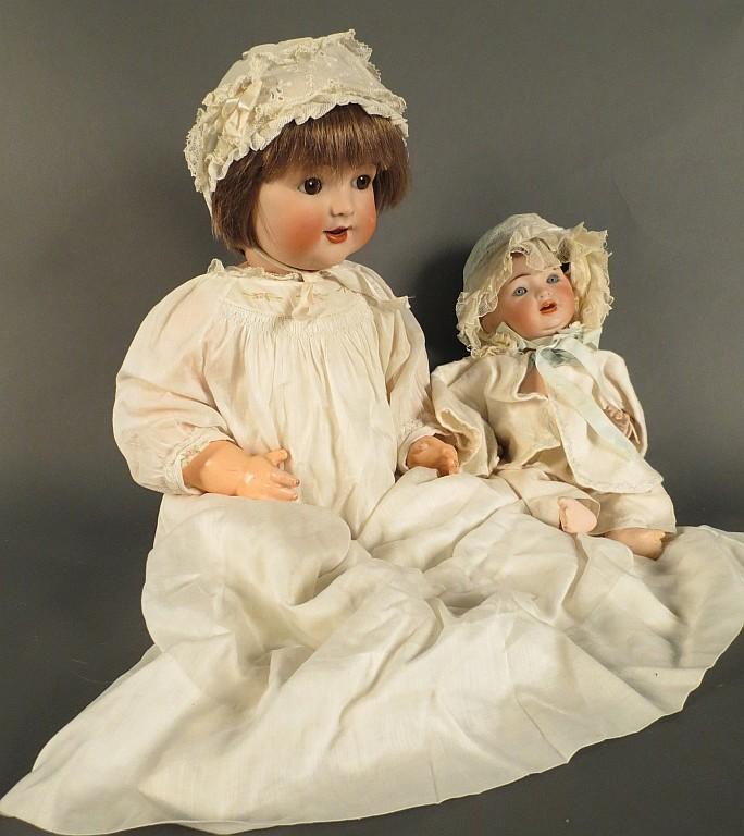 Krammer & Rheinhardt and G.B Bisque Head Dolls
