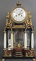 Biedermeier Clock, 19th C