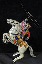 Marx Tin Litho Wind-Up Lone Ranger Toy