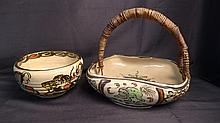 Japanese Art Pottery Bowls