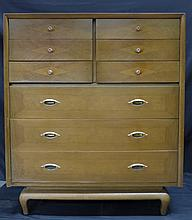 American of Martinsville Art Deco Tall Dresser