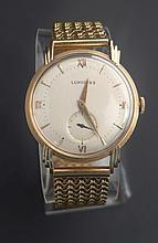 Longines 18K Men's Wrist Watch