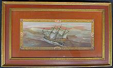 Sailing Ship Print by Paul Farnham