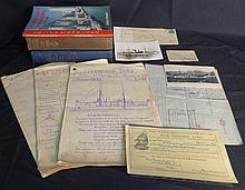 International Lot of Naval Ephemera