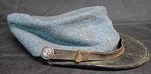 Vintage Military Hat, Flaming Grenade