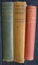 Collection of Antique Military Books
