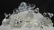 Swarovski and Crystal Figurines