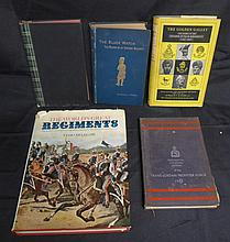 Assorted Books on Military Regiments