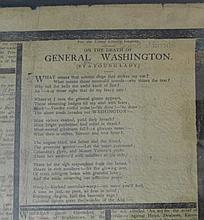 President George Washington's Obituary