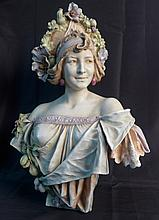 Attributed to Amphora Turn Teplitz Bust