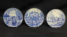 Royal Delfts Blauw Plates