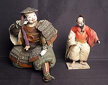 Set of 2 Vintage Chinese Figures / Dolls