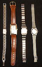 4 Wrist Watches
