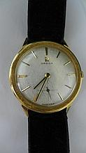 14 kt Gold Omega Watch
