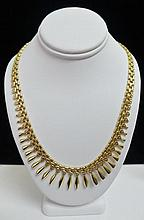 14 kt Gold Italian Necklace