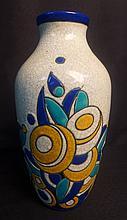 Charles Catteau and Ernest Tondeur Art Deco Vase