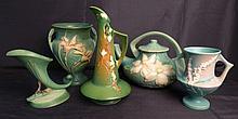 Assortment of Roseville Art Pottery
