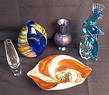 Grouping of Art Glass