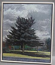 O/C Signed Landscape