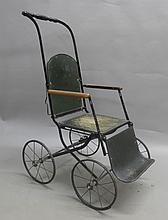 Antique Child's Folding Wheelchair / Stroller