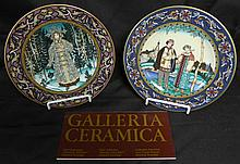 2 Heinrich Russian Fairy Tales Collector Plates