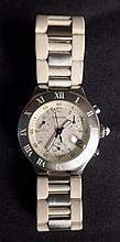 Women's Cartier Must 21 Chronoscaph Wristwatch