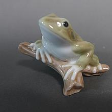 Lladro Lucky Frog Porcelain Figurine