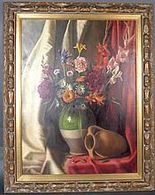 Signed Floral Still Life